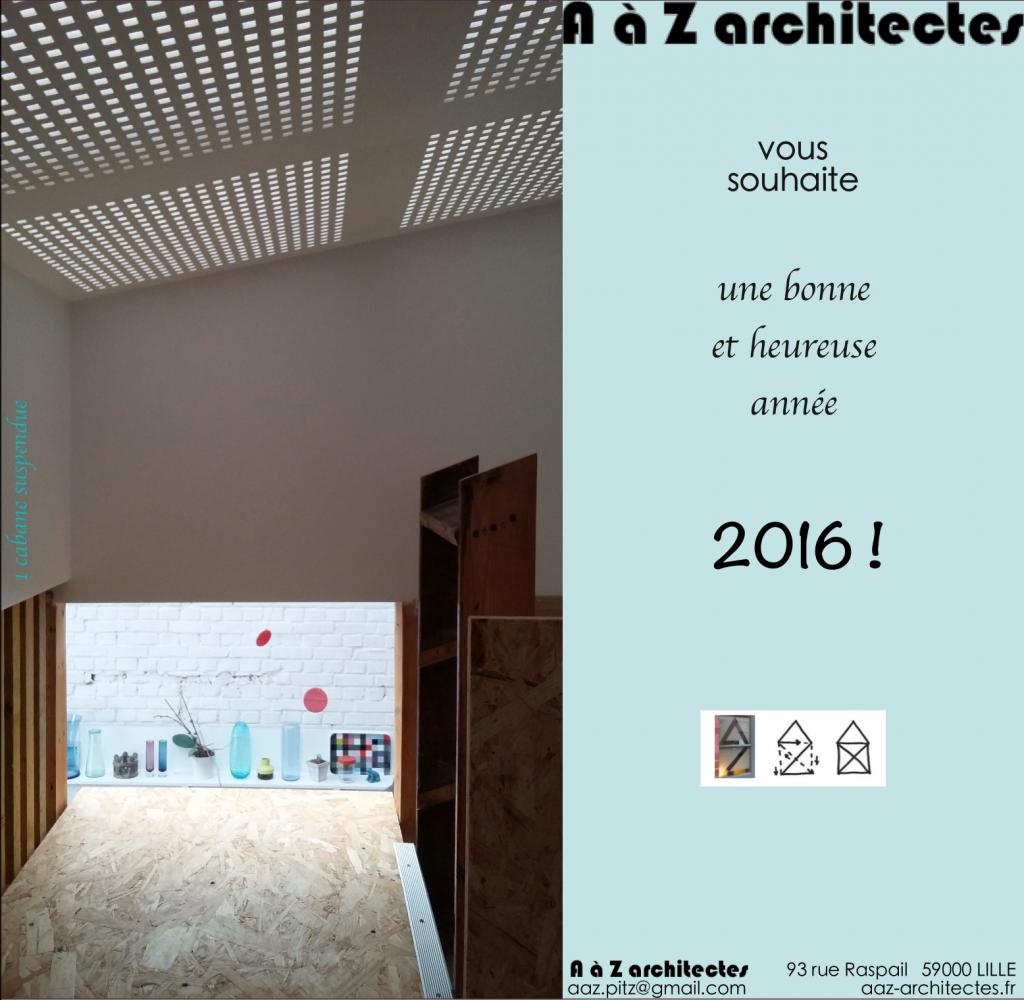 AàZ architectes 2016 !