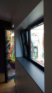 AàZ architectes rideau/salle à manger