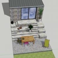 AàZ architectes 3d terrasse