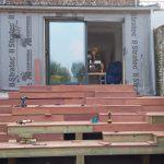 AàZ architectes terrasse en cours