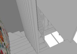 AàZ architectes WTS 01 escalier 3D