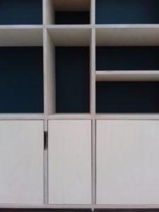 AàZ architectes LIL 07 détail bibliothèque